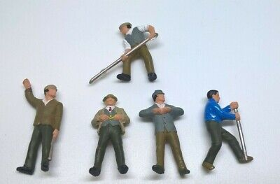 Railway Workmen Figures For Hornby Triang Railways Oo Gauge