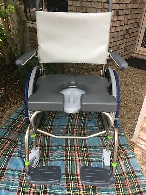 Wheelchair New Raz SP 600 heavy duty Rehab shower commode wheelchair