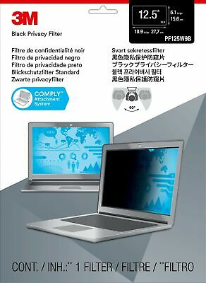 """New  3M Privacy Filter For 12.5"""" Widescreen Laptop 98044054439"""