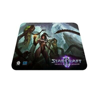 New  Steelseries Qck Starcraft Ii Heart Of The Swarm Kerrigan Edition Mouse Pad