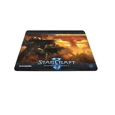 New  Steelseries Qck Starcraft Ii Wings Of Liberty Marine Edition Mouse Pad