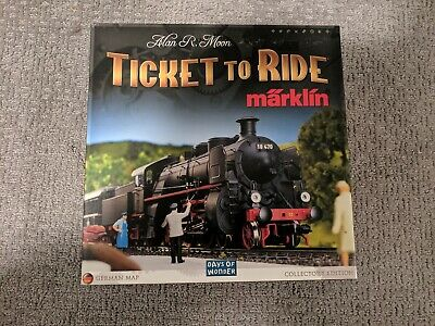 Ticket to Ride Marklin Collector's Edition Germany Map Days of Wonder