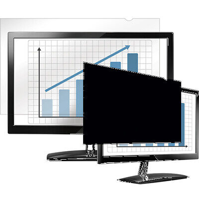 New  Fellowes Privascreen Blackout Privacy Filter 4800501