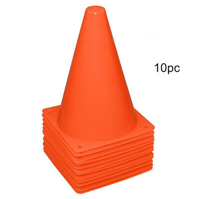10 x  UP COLLAPSIBLE SAFETY TRAFFIC WARNING CONE car van caravan motorhome