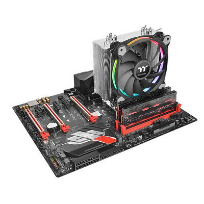 New  Thermaltake Riing Silent 12 Rgb Sync Edition Processor Cooler