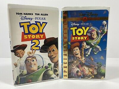Toy Story Special Edition VHS & Toy Story 2 VHS Bundle