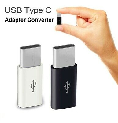 Micro USB to USB C 3.1 Type C Cable Adapter for S9 S8 Note 8 9 Lg G6 G7 Macbook