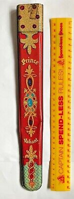 Vintage 1950S Prince Valiant Tinplate Toy Sword Sheath Australian Made Kfs Rare