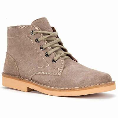 Roamers Mens Ghillie Tie Real Suede Leather Desert Ankle Boots 6-12 DF225