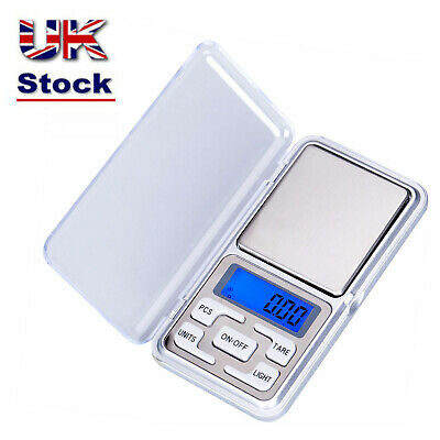 0.1G-500G Digital Weighing Scales Pocket Grams Small Kitchen Gold Jewellery  NEW