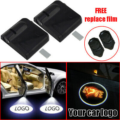 2x Car Door Courtesy LED Projector Ghost Shadow Light Logo Welcome Light for BMW