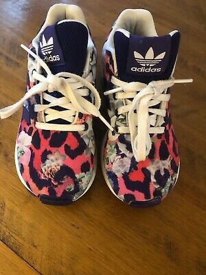 Girls Adidas Tortion ZX Flux Trainers  UK Infant 11