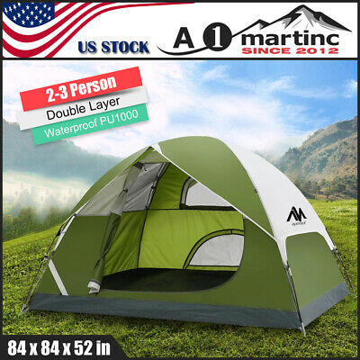 3-4 Person Waterproof Family Camping Tent Outdoor Dome Tent Backpacking Hiking