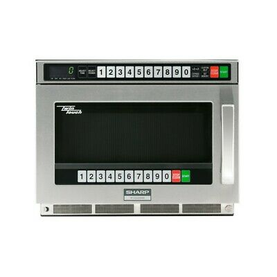 Sharp R-CD2200M TwinTouch Commercial Microwave Oven 2200 watts