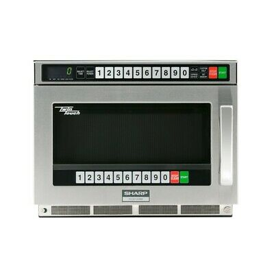 Sharp R-CD1200M TwinTouch Commercial Microwave Oven 1200 watts