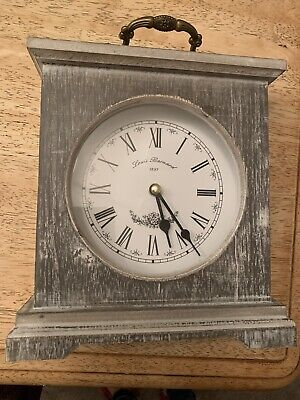 Shabby Chic Wooden mantle clock