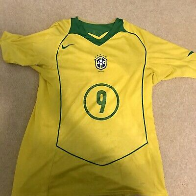 Brazil 1970 Retro World Cup Football Embroidered Effect Ringer T-Shirt to 3XL