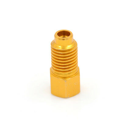 R134a Refrigerant Tank Adapter 1/2'' ACME Female x 1/4'' Male Flare Fitting BR
