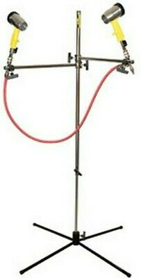 DeVilbiss Waterborne Paint Air Dryer Stand 130529 with 2 Dryer Guns 130530