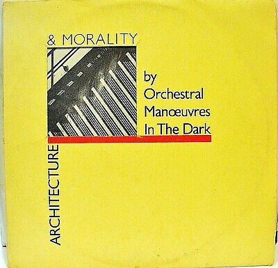 ORCHESTRAL MANOEUVRES IN THE DARK LP Architecture and morality 1981 Epic
