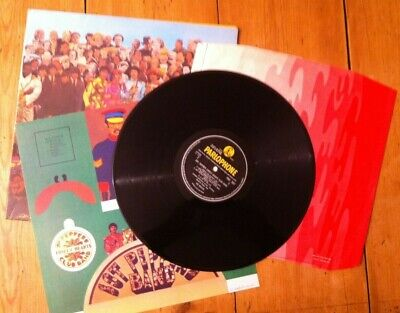 The Beatles: Sgt Pepper's, Rare Original Uk Mono Vinyl, Complete Inc Psych Inner