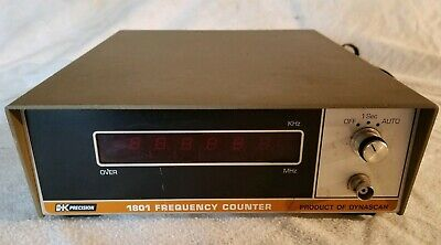 B&K Model 1801 Frequency Meter Dynascan Corp used tested
