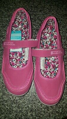 Mountain Warehouse Size 3 Magda girls shoe pink with secure Velcro fitting
