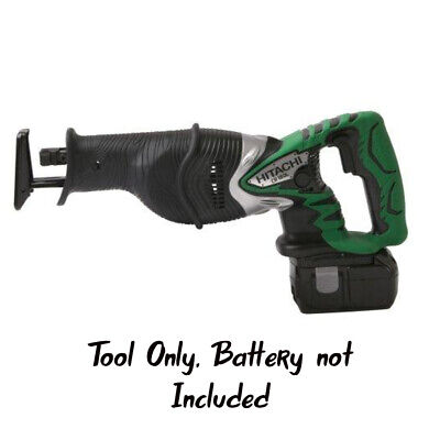 Hitachi CR18DL Cordless 18 Volt Reciprocating Saw w/Blade, Warranty