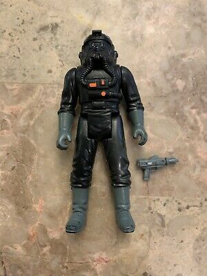 Vintage Star Wars Imperial Tie Fighter Pilot Complete 1982 Hong Kong