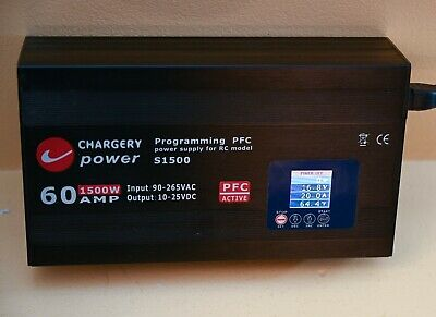 Chargery S1500 60A 1500W Ajustable Power Supply