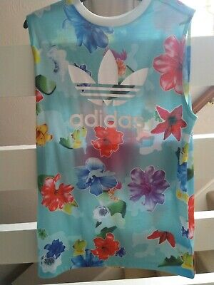 Girls Adidas Floral Top Age 13