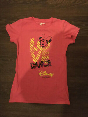 Disney Sport Girl's Hot Pink Oversize Top With Mickey Mouse Print 9-10yrs