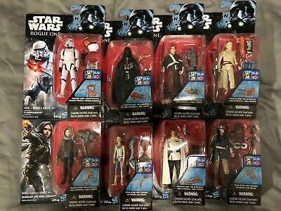 Hasbro Star Wars Rogue One Action Figures, Choose Character, New
