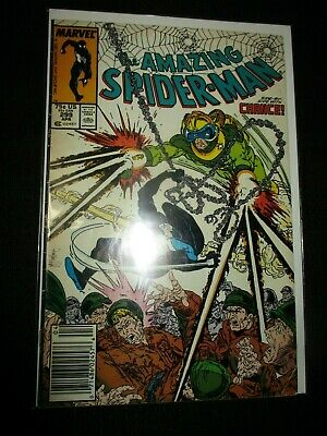 AMAZING SPIDER MAN 299  VF- Tod McFarlane/Chance White pages!