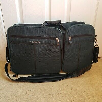 Samsonite 1993 Silhouette 5 Soft Side Luggage Suitcase Carry On Bag Strap