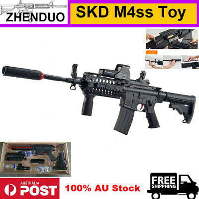 Black Nylon SKD M4SS Sniper Rifle Gel AmmoToy Blaster Adult Size 100% AU Stock