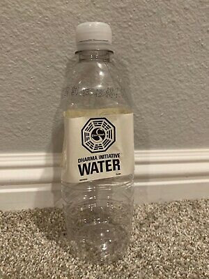 DHARMA Initiative Used Water bottle - LOST TV ABC SHOW - Official Prop - Look!