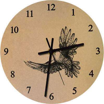 275mm 'Cuckoo Bird' Large Wooden Clock (CK00011262)