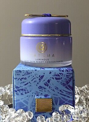 TATCHA Luminous Dewy Skin Night Concentrate 1.7 oz Brand New In Box!