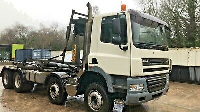 DAF CF85 360 Euro5 8x4 Hookloader / Roll On Roll Off Lorry