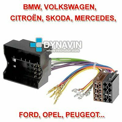 DYNAVIN ISO-FAKRA Connecteur ISO universel radios BMW/VW/OPEL/PEUGEOT *NEUF*