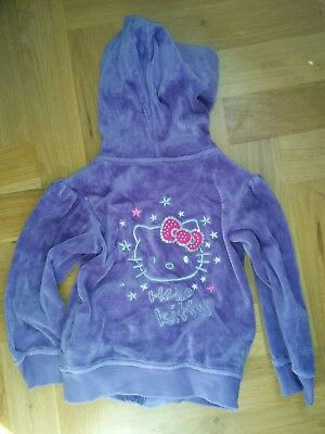 Hello Kitty Marks And Spencer Girls Hoodie Age 2-3