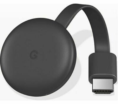 Google Chromecast 3rd Generation Media Streamer Full HD 1080p WiFi HDMI 2gb