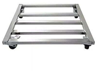 Carlisle Cateraide PC300 End-Loading Food Pan Carrier Dolly, Stainless Steel New