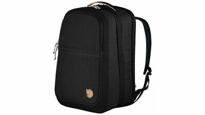 Fjallraven Travel Pack (RRP £210) 35l Unisex Hand Luggage Bag Black