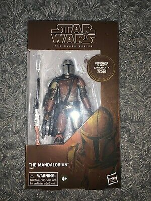 The Mandalorian Star Wars Black Series Target  Exclusive Carbonized Graphite!