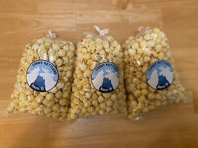 "Corny Kettlers, Kettle Corn 3 bags (8x12 inch per bag) ""BEST KETTLE CORN EVER"""