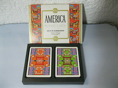 AMERICA PLAYING CARDS / Arts of pre-columbian America / Plastic coated