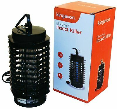 Kingavon 1W Electronic Insect Killer Bug Zapper Camping Outdoors Porch 220V
