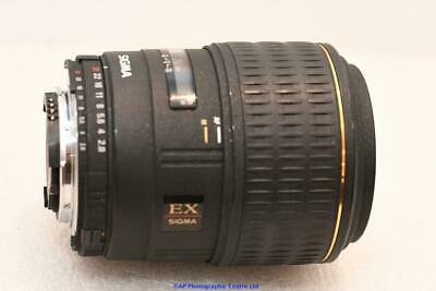 Nikon fit Sigma 105mm F2.8 Macro Lens GOOD CONDITION